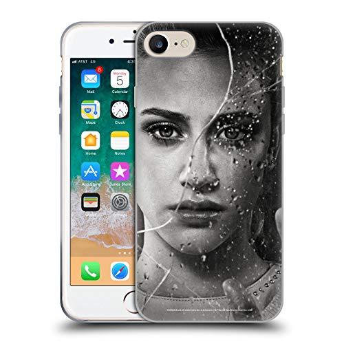 Head Case Designs Oficial Riverdale Betty Cooper Retratos de Vidrio Roto Carcasa de Gel de Silicona Compatible con Apple iPhone 7 / iPhone 8 / iPhone SE 2020