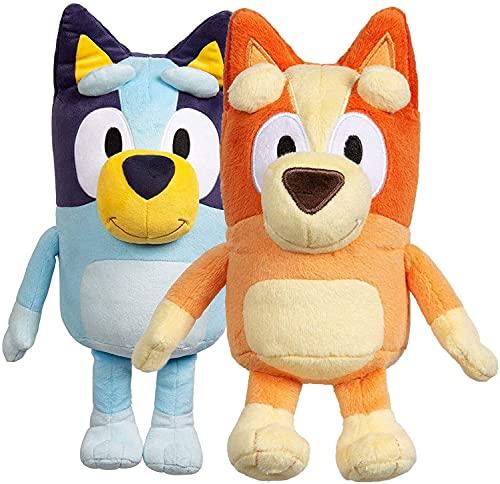 Anime Plüschpuppe Bru Bingo Hund Familie Animation Cartoon Spielzeug Puppe Geschenk 28 cm