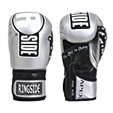 Ringside Apex Flash Sparring Gloves, SV/BK, 16 oz