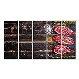 islandburner Bild Bilder auf Leinwand Saftiges Fleisch