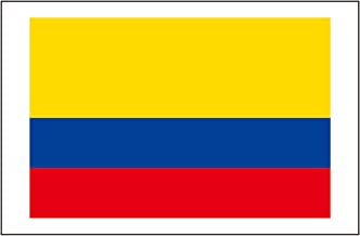 8 Large Colombia Flag Tattoos: Colombian World Cup Party Favors