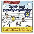 Die 30 besten Spiel-und Bewegungslieder 2 - Kinderlieder und Babylieder - bei amazon kaufen