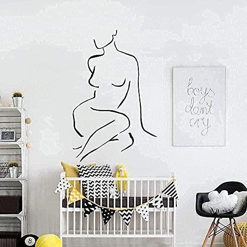 Pegatinas de pared de PVC pegatinas de pared para el hogar dormitorio muebles de la habitación de los niños hermosa decoración-28x42cm