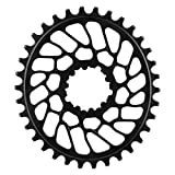 ABSOLUTE BLACK CHAINRING ABSOLUTEBLACK OVAL DIRECT GXP 28T BK by ABSOLUTE BLACK