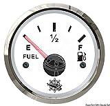 OSCULATI Indicatore Carburante 240/33 Ohm Bianco/Lucida