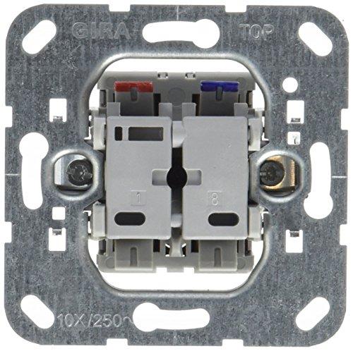 Preisvergleich Produktbild Gira 013600 Tastschalter Kontroll Wechsel Einsatz