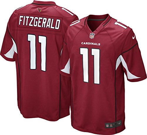 Larry Fitzgerald Youth Jersey: Home Red Game Replica #11 Nike Arizona Cardinals Youth Jersey