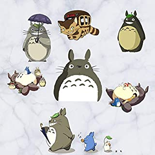 60cm Cute Tonari No Totoro Kawai Sticker 3D Visual Effect Wallpaper Totoro Trunk Miyazaki Hayao's Work Mode Stickers