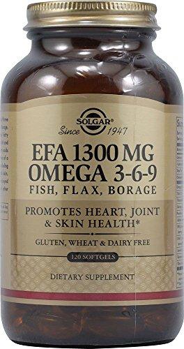 Solgar Omega 3-6-9 Fish, Flax, Borage Softgels, 120