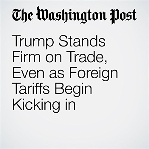 Trump Stands Firm on Trade, Even as Foreign Tariffs Begin Kicking in copertina