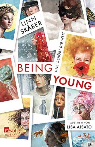 Buchseite und Rezensionen zu 'Being Young: Uns gehört die Welt' von Linn Skåber