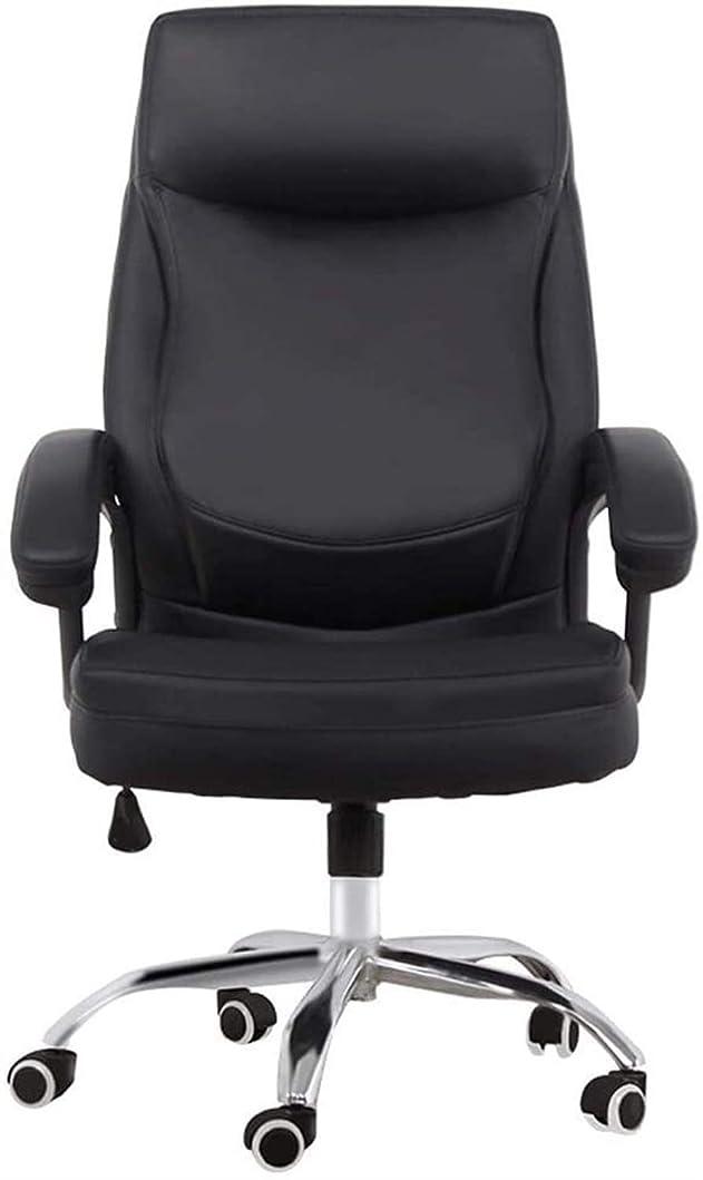 矩形改修するウェーハコンピュータチェア、ホームオフィスチェア、人間工学に基づいて設計ボス椅子、革リフトスイベルチェア
