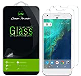 [2-Pack] Dmax Armor for Google Pixel XL Screen Protector, [Tempered Glass] Anti-Scratch, Anti-Fingerprint, Bubble Free, Ultra-Clear
