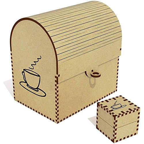 Azeeda 'Tee' Groß Schatztruhe / Schmuckschatulle (TC00006961)