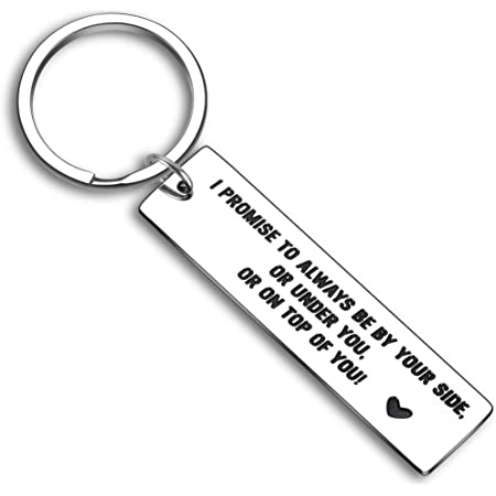 Novelty Present for Women Men Key Holder with Ring Novelty Gift for Men Women Boyfriend Girlfriend Practical Jokes Rude Funny Gag Model LS2021 Need For Gift - 1 Pack Size 7cm