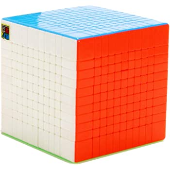 Cuberspeed 11x11 stickerless Magic Cube Cubic 11x11 Speed Cube Square Puzzle