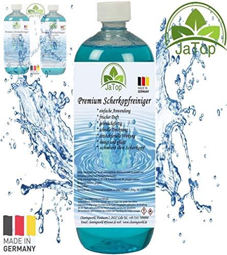 JaTop Scherkopfreiniger 3000ml Nachfüllflüssigkeit für Reinigungskartuschen.Geeignet für Braun CCR Kartuschen + gängige Kartuschen