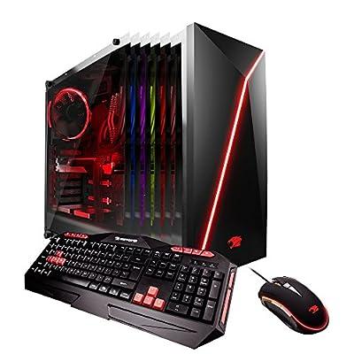 iBUYPOWER Gaming Elite Desktop PC Liquid Cooled