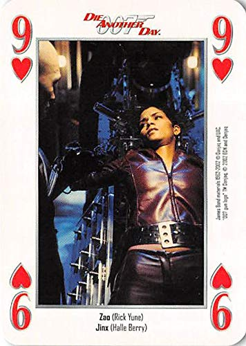 Halle Berry trading card gaming Jinx 007 James Bond Die Another Day #9H Restrained