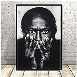 NRRTBWDHL Miles Davis Blue Jazz Musik Album Popstar Poster