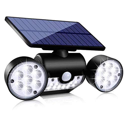 Lámparas solares para exterior con sensor de movimiento (1 unidad)