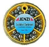 Jenzi Lochbleisortiment mit versch. SortierungenInhalt: 120 g.