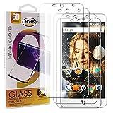 Guran 4 Paquete Cristal Templado Protector de Pantalla para Wileyfox Swift 2 X Smartphone 9H Dureza Anti-Ara?azos Alta Definicion Transparente Película