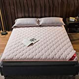 zyl Colchón de futón Suave Plegable cómodo colchón de Tatami Transpirable Colchoneta Japonesa Gruesa para Dormir...
