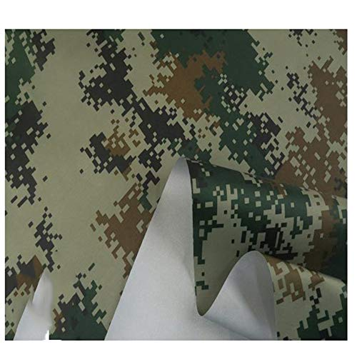 GLFYHG 450D Camuflaje Oxford Lluvia Tela De Lucha, Sun Shade Sail Patio Tienda Tarp Tarpaulin Canopy Cloth, Protección Solar Totalmente Impermeable(Color:6#)