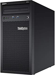Lenovo ThinkSystem ST50 7Y49 Server - Tower - 4U - 1-Way - 1 x Xeon E-2144G/ 3.6 GHz - RAM 8 GB - No HDD - DVD-Writer