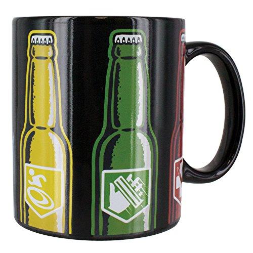Paladone Call of Duty Thermoeffekt -Tasse Epic Six Perks, Keramik, Mehrfarbig, 12 x 8 x 9 cm, 2