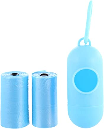 Pixie Disposable Bag Dispenser and Refill Rolls, Blue - 2