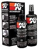 K&N Kit de Limpieza del Filtro de Aire 204 ml y 355 ml