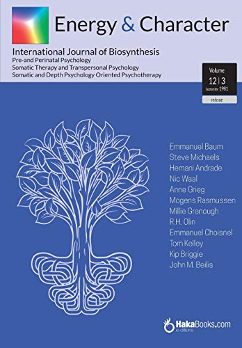 Energy & Character - Volume 12 - N.3: September 1891 - International Journal of Biosynthesis