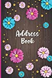 Address Book: Record Phone Numbers, Addresses, Emails, Birthdays and Notes: Address Book and Telephone Number with Tabs