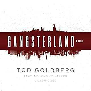 Gangsterland audiobook cover art