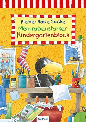 Der kleine Rabe Socke: Mein rabenstarker Kindergartenblock: Beschäftigung für Kindergartenkinder