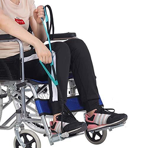 RHome Beinlifter Strap | Handgriff und Fußschlaufe, mehrere Schlaufen, Hilfsmittel, Langband-Mobilitätshilfe für ältere Menschen, Handicap, Behinderte, medizinische Geräte, 1 Stück