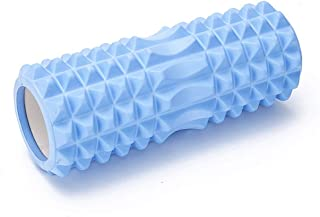 Foam Roller for Muscle Massage, Lightweight Hollow Core for Deep Pain Relief in Your Aching Legs and Body Ideal for Runner Cyclist Footballer Athlete