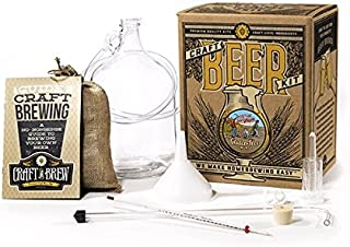 Home Brewing Kit for Beer – Craft A Brew Gluten-Free Ale Beer Kit – Reusable Make Your Own Beer Kit – Starter Set 1 Gallon
