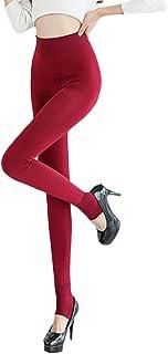 Zhhlinyuan ファッションレディース Breathable Comfortable Thick Pants New Warm Plus Cashmere Womens Ladies Leggings Pants