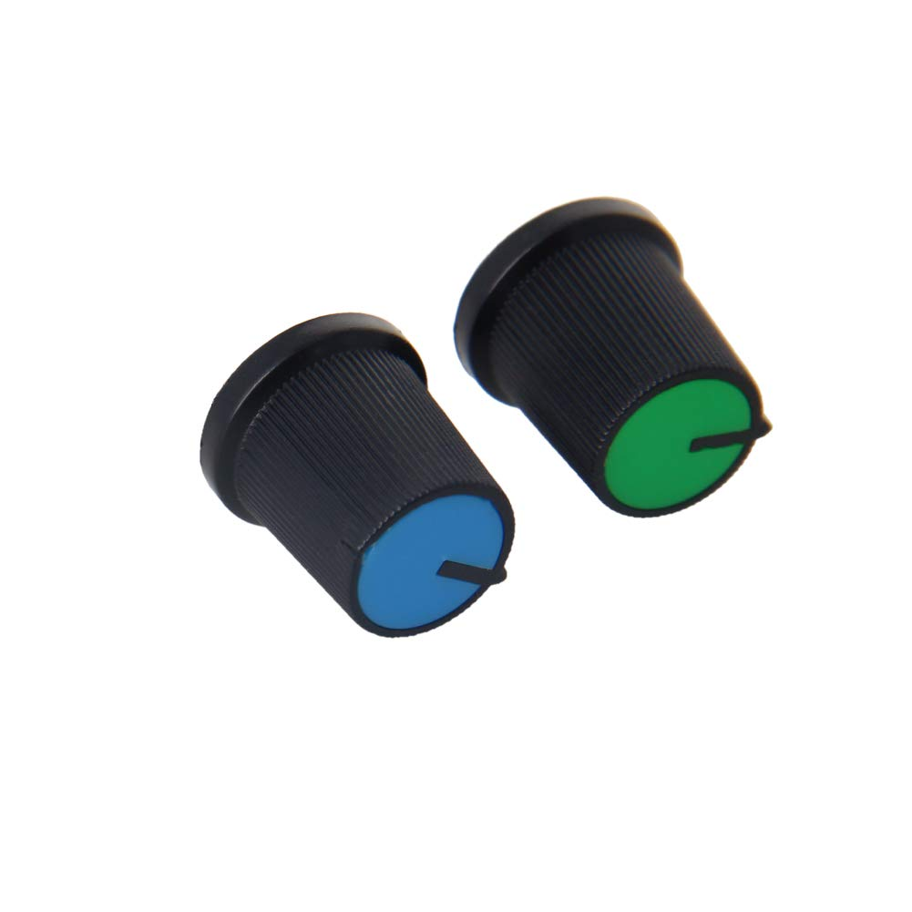Fielect Potentiometer Control Knob 30Pcs 6mm security 15x15m Insert Shaft Cash special price