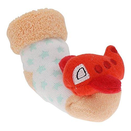 Soxo 44166 Gr.16-18 FLUGZEUG Socken mit Rassel