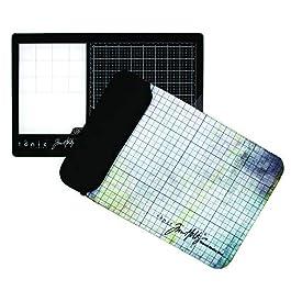 Tonic Studios Tim Holtz Travel Glass Media Mat 10.25″X15.5″-Left-Handed