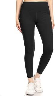 SOLMI Premium Activewear Yoga Leggings with Hidden Pocket in Waistband
