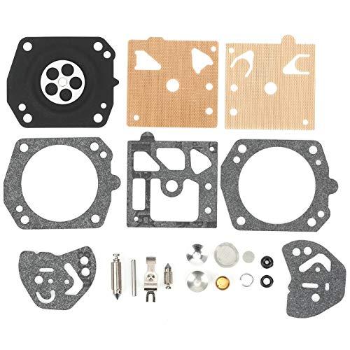 Modelo K20-HDA, Kit de filtro de junta de carburador, Kit de herramientas de reparación de carburador,