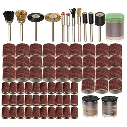 150 Pieces Set Rotary Power Tool Fits for Dremel 1/8