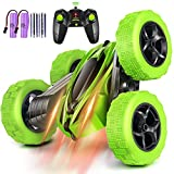 Multifunctional Stunt Car. It can provide different playing experiences. This RC car has double sides racing, moving forward, backward, turning left, right, spinning on both sides, 360 degrees tumbling and spinning. It can also turn into a dance car,...