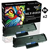 (2-Pack) Compatible 101S 101 MLT-D101S Toner Cartridge D101S Used for Samsung SF-760P ML-2160 ML-2165W SCX-3401FH 3405F 3405FW Laser Printer, Sold by ColorPrint