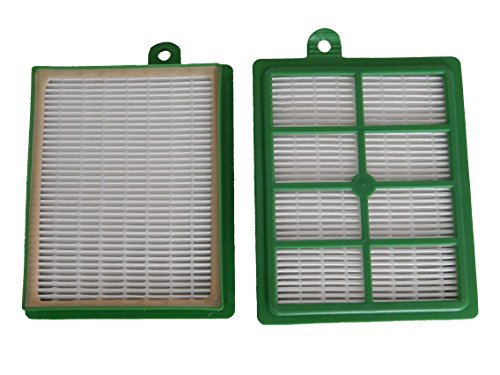vhbw Set de filtros Hepa de Recambio para AEG Cyclone XL ACX 6200, ACX 6201, ACX 6202, ACX 6203, ACX 6204, ACX 6205, ACX 6206 reemplaza AEF 12, H12.